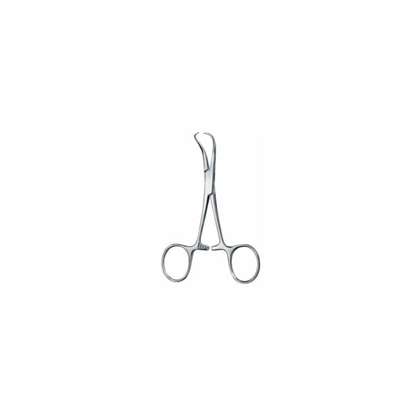 TOWEL FORCEPS, BACKHAUS, SHARP, 11 CM  — зажим для белья, по Backhaus, 11 см
